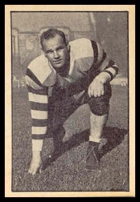George Arnett 1952 Parkhurst football card