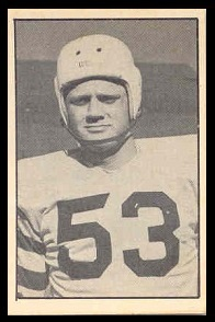 Marshall Hames 1952 Parkhurst football card