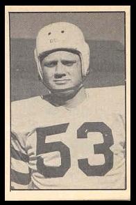Marshall Hames 1952 Parkhurst football card