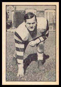 Shanty McKenzie 1952 Parkhurst football card