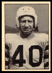 Red Ettinger 1952 Parkhurst football card