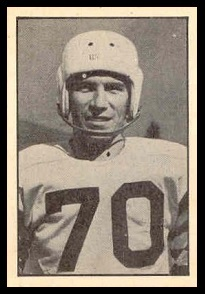 Al Bruno 1952 Parkhurst football card