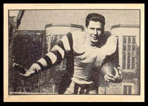 Stephen Karrys 1952 Parkhurst football card