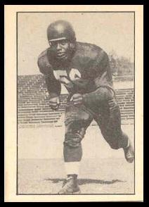 Herb Trawick 1952 Parkhurst football card