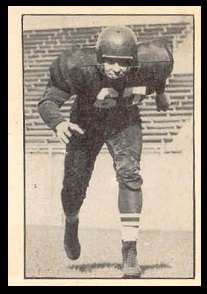 Marv Meirowitz 1952 Parkhurst football card