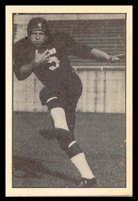 Jim Ostendarp 1952 Parkhurst football card