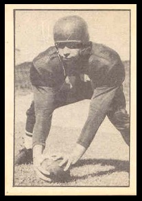 Tom Tofaute 1952 Parkhurst football card