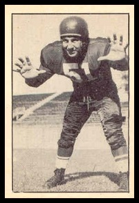 Ray Cicia 1952 Parkhurst football card