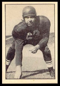 Jim Staton 1952 Parkhurst football card
