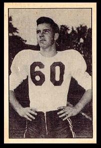 Glenn Douglas 1952 Parkhurst football card