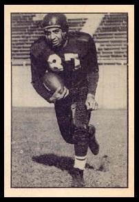 Ed Salem 1952 Parkhurst football card