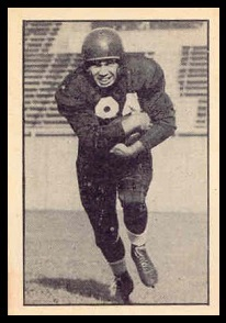Dawson Tilley 1952 Parkhurst football card