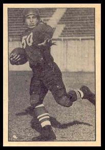 Cec Findlay 1952 Parkhurst football card