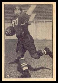 Cec Findlay 1952 Parkhurst football card