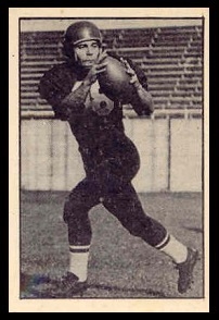 Tommy Manastersky 1952 Parkhurst football card