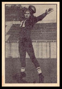 Fran Nagle 1952 Parkhurst football card