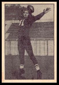 Fran Nagle 1952 Parkhurst football card
