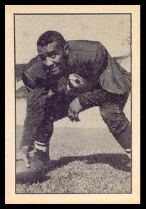 Chuck Anderson 1952 Parkhurst football card