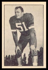 Bill Stanton 1952 Parkhurst football card