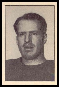 Matt Anthony 1952 Parkhurst football card
