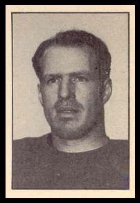 Matt Anthony 1952 Parkhurst football card