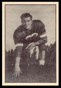 John Morneau 1952 Parkhurst football card