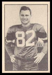 Howie Turner 1952 Parkhurst football card