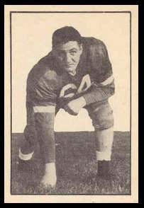 John Bove 1952 Parkhurst football card