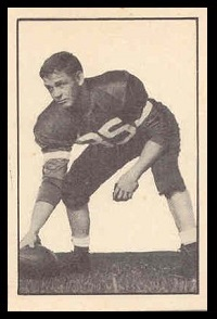 Bruno Bitkowski 1952 Parkhurst football card