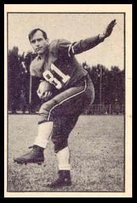 Gene Roberts 1952 Parkhurst football card