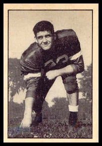Buck Rogers 1952 Parkhurst football card
