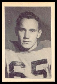 Hal Waggoner 1952 Parkhurst football card