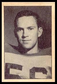 Joe Shinn 1952 Parkhurst football card