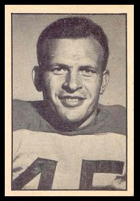Ralph Sazio 1952 Parkhurst football card