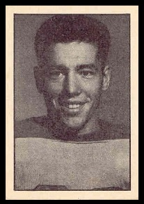 Bob McDonald 1952 Parkhurst football card