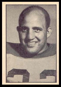 Vince Scott 1952 Parkhurst football card