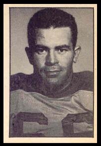 Jack Stewart 1952 Parkhurst football card