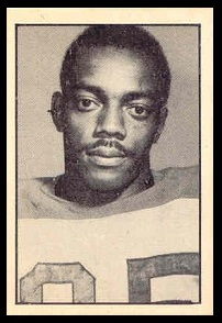 Bernie Custis 1952 Parkhurst football card
