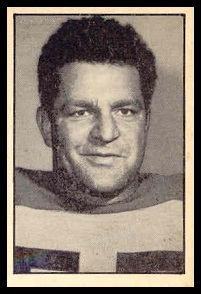 Vince Mazza 1952 Parkhurst football card