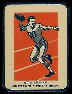 Otto Graham in Action 1952 Wheaties football card