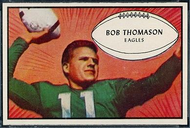 Bobby Thomason 1953 Bowman football card