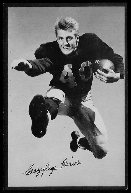 Elroy Hirsch 1953 Rams Team Issue football card