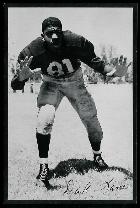 Dick Lane 1953 Rams Team Issue football card