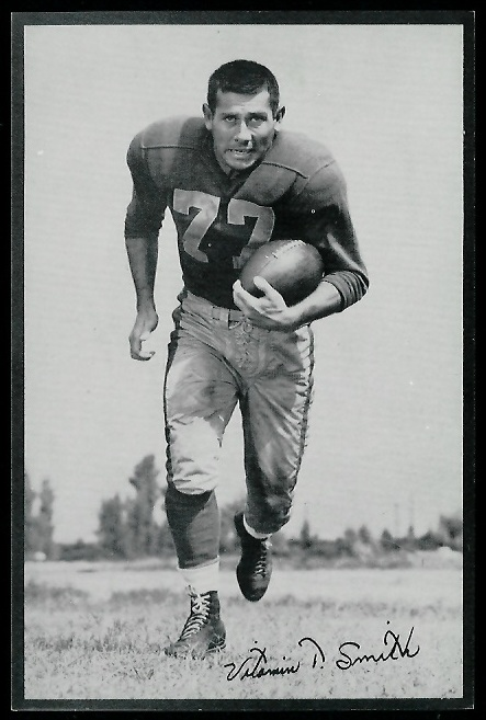 Vitamin Smith 1953 Rams Team Issue football card