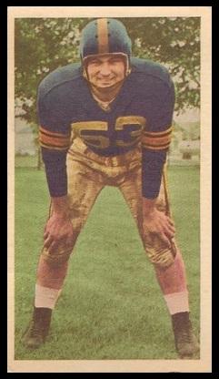 Steve Patrick 1954 Blue Ribbon football card