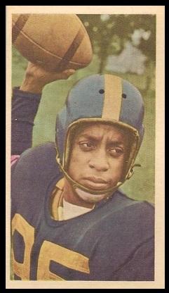 Jesse Thomas 1954 Blue Ribbon football card