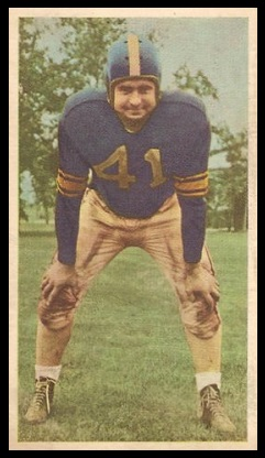 Buddy Tinsley 1954 Blue Ribbon football card