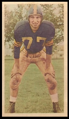 Ron Vaccher 1954 Blue Ribbon football card