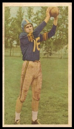 Neill Armstrong 1954 Blue Ribbon football card