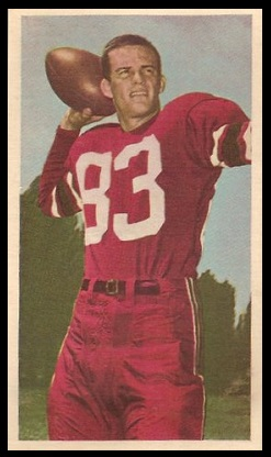 John Gramling 1954 Blue Ribbon football card